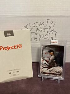 2021 topps project 70 shohei ohtani Chuck Styles sold out sp pr 9,177 in hand
