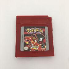 Pokemon RED Version Spiele Card Spielpatronen für Nintendo GBC-Game Cartridge