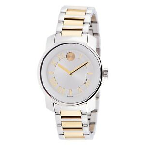 Movado 3600245 Women's Bold Silver Quartz Watch