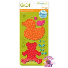 Accuquilt GO! Fabric Cutter Die Baby Baby Duck Bear Quilt Sew 55037