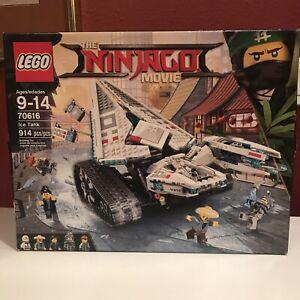 Lego Ninjago Movie ICE TANK 70616 - Brand New Sealed ,Small box damage See Photo