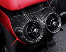 Real carbon fiber Rear Air Vent Outlet Cover Trim For Alfa Romeo Giulia 2017-20