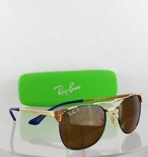 Brand New Authentic Ray Ban Junior RB 9540 260/83 Sunglasses RB 9540S Gold Frame