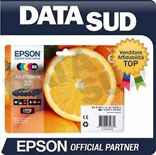 CARTUCCE ORIGINALI EPSON 33 MULTIPACK XP-530, XP-630, XP-635, XP-830