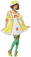Apple Dumplin' Strawberry Shortcake Retro Fancy Dress Up Halloween Adult Costume