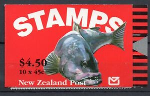 NEW ZEALAND STAMP  BOOKLET: 1993 $4.50 MANNE LIFE SG SB65 MINT NEVER HINGED