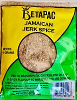 Jamaican Betapac Jerk Spice, Jerk Seasoning & Rub, 113g - US ship, 3 days