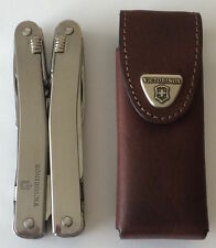 Victorinox Swiss Army Knife Swisstool Spirit, With Leather Pouch 53800, NIB