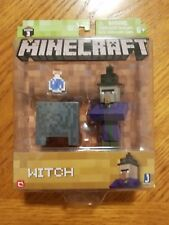 Minecraft Series 3 WITCH 3in Action Figure With Cauldron and Potion New! Sealed!