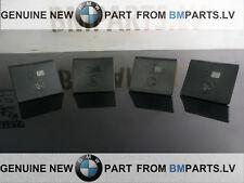4X NEW GENUINE BMW X3  E83 E83 LCi SEAT ISOFIX MOUNT COVER BLACK  52203411930