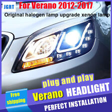 12-17 For Buick Verano Headlights assembly Halogen Upgrade Xenon Lens Projector