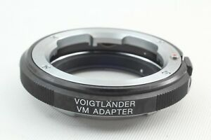 【MINT】Voigtlander VM Adapter for Sony E-mount from JAPAN #161