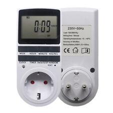 Delicate Digital Timer Switch EU Plug Timer Outlet Programmable Socket