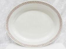 "Bristile / Wembley ware - Platter (11 5/8"")  vgc, geometric brown line pattern"