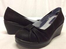 SKECHERS Memory Foam Women's Wedge Shoes, Black, 6 Eur 36. ....S38
