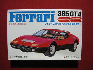 Ferrari 365 GT4 BB Kawai 1/38 Scale Plastic Model Kit Japan MIB Rare