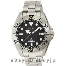 Seiko Prospex SBDJ009 Solar Dia-Shield Titanium 200m Mens Diver V157 Watch