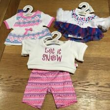BUILD A BEAR FACTORY GORGEOUS WINTER  OUTFITS INCLUDING ICE SKATING BNWT