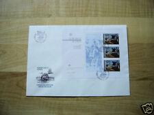 PORTUGAL AZOREN - Block 3 auf Ersttagsbrief/FDC (CEPT)