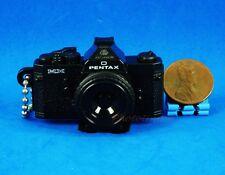 Takara Tomy Pentax Camera Figure Keychain Decoration 1:3 MX Black Model A539