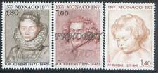 Monaco 1977 Mi 1270-72 ** Paul Rubens Painting Gemälde Peinture Art Malarstwo