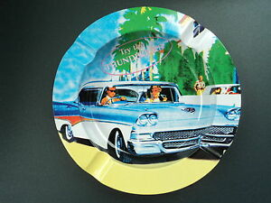Ashtray Cadillac Style Year 60 Smoker Decor Or Collectors