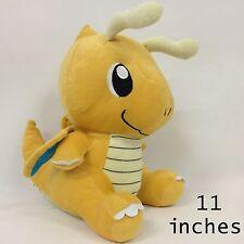 "Dragonite Pokemon Plush Soft Toy Stuffed Animal Character Doll Teddy 11"" SO BIG"
