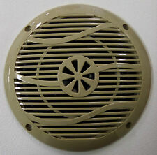 """Lot of 10 NEW 6"""" Outdoor Marine Speakers RV Camper Trailer Boat Tan 4 Ohm"""
