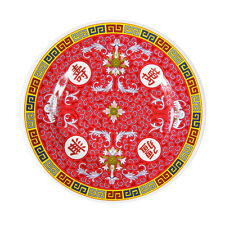 """CHINESE MELAMINE DINING PLATE 10.5"""""""
