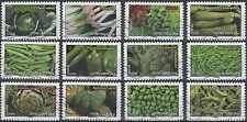 France 4258-69 Vegetables (12 USED Stamps) (2012)