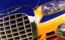 199Chrysler Chronos Concept Car Hand Colored Photo Show Car Art Automobilia