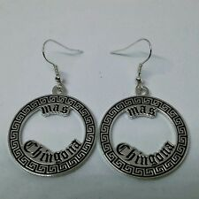Chicana Mas Chingona Earrings  Lowrider Rockabilly Chola