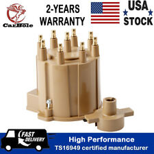 Distributor Cap Rotor Kit External Coil For GM Chevy Buick Cadillac 5.0L 5.7L V8
