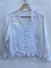 Vintage French Linen Shirt