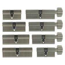 Serrure Cylindrique Pommeau Porte Double Cylindre de à Bouton Profil