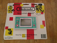 **BALLOON FIGHT** Nintendo Game and Watch  **SEALED**!!! on card never opened!