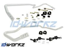 WHITELINE FRONT & REAR ANTI ROLL BAR ARB PACKAGE FOR NISSAN SKYLINE R32 GTR