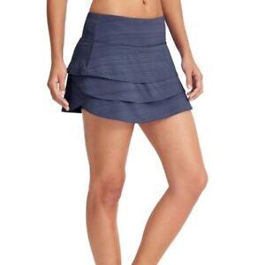 Athleta Swagger Skirt Skort Tennis, Running blue Size XXS  EUC  983302