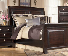 WESTWOOD 5 Pieces Modern Espresso Bedroom Set Furniture W/ King Size Sleigh  Bed