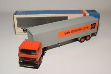 LION CAR DAF 2800 TRUCK WITH TRAILER VAN GEND & LOOS NEAR MINT BOXED