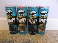 NEW Lot of 4 Pringles Wavy MOA Burger Limited Edition Flavor HALO Can NEW SEALED