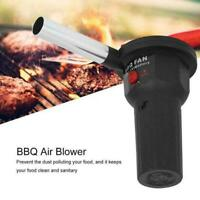 Electric BBQ Fan Air Blower For Outdoor Camping Picnic Portable Barbecue C9S7