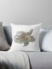 Large Sea Life Cushions - Lionfish