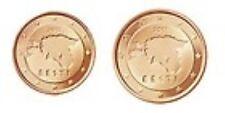 Estland    2012     1-2 cent       UNC uit de rol !!!