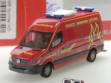 """Herpa Mercedes Sprinter HD """"Feuerwehr Wilsdruff"""" - 093491 - 1:87 - ANGEBOT"""