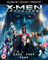 X-Men - Apocalypse - 3D Blu Ray + Blu Ray + Digital HD - Brand New & Sealed