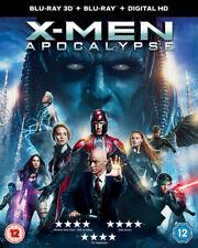 X-Men - Apocalypse - 3D Blu Ray + Blu Ray + Numérique HD - Neuf & Scellé