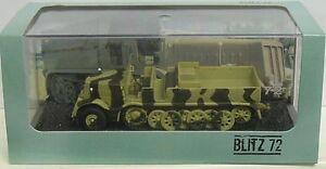 Heavy Zugkraftwagen Famo 18T (Sd.Kfz.9), Blitz 72, 1:72, Finshed Model, New