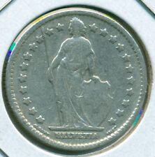 1911 SWITZERLAND 1 FRANC, FINE, GREAT PRICE!