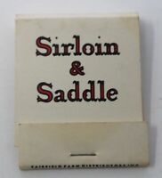 Vintage 1960s Matchbook Marriott Motor Hotels Sirloin & Saddle - Columbia Match